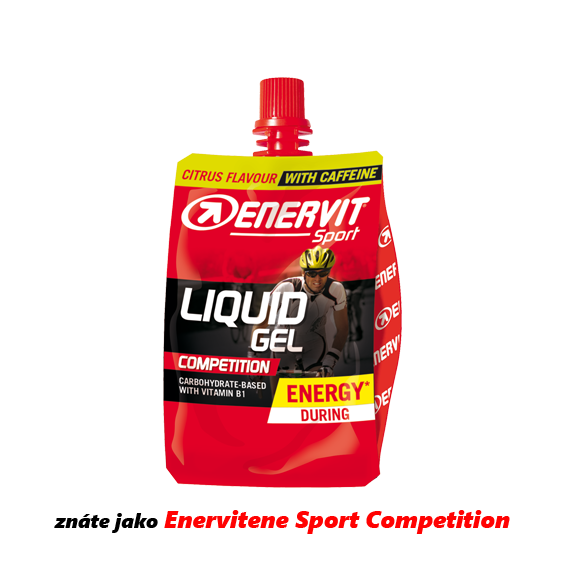 Enervit Liquid Gel Competition kofein/citrus SLEVA