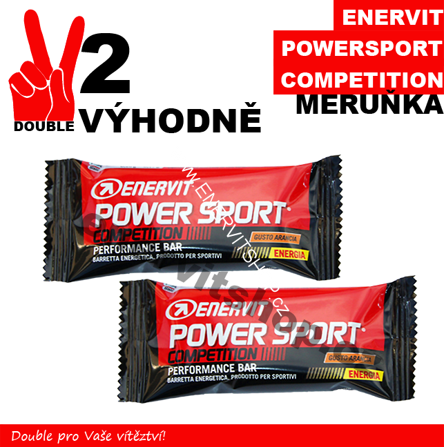 Enervit Power Sport Competition - 2 x meruňka