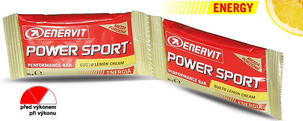 Enervit Power Sport Double Use - citron/smetana