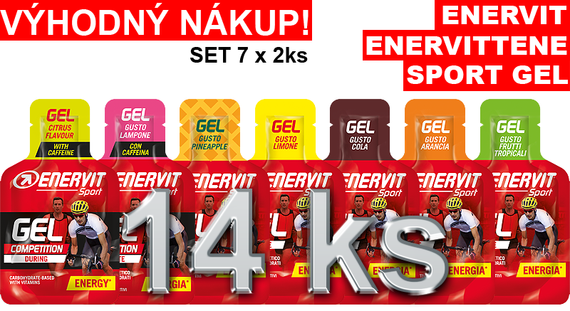 Enervit gel set 7 x 2 ks
