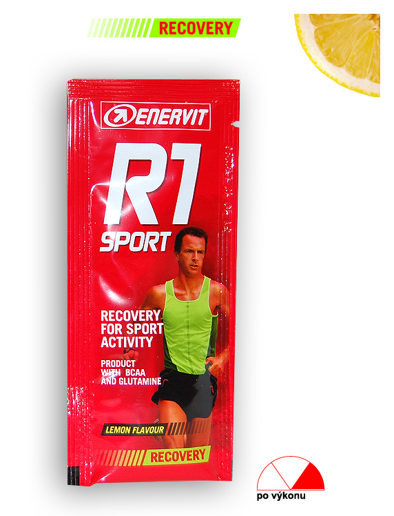 Enervit After Sport Drink - citron, sáček 15 g