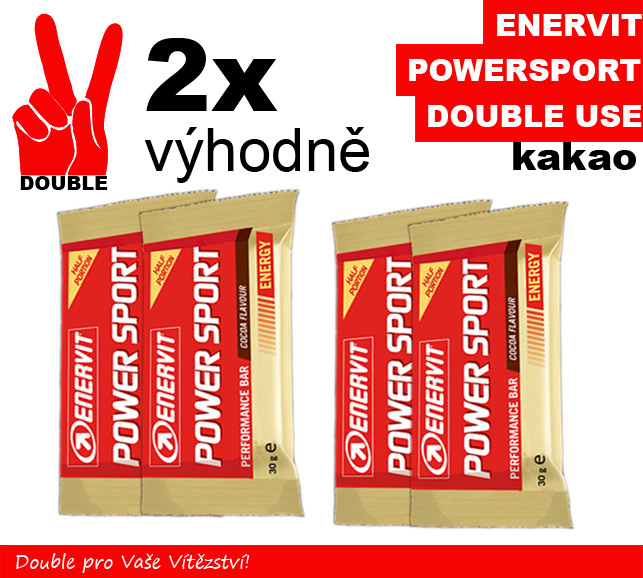 Enervit Power Sport Double Use 2 x kakao