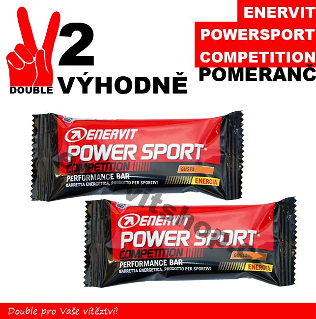 Enervit Power Sport Competition - 2 x pomeranč