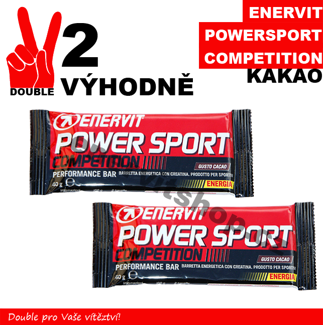 Enervit Power Sport Competition - 2 x kakao